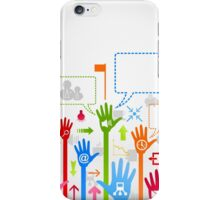 Hand business iPhone Case/Skin