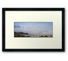 Achill Island Panorama Framed Print