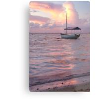 Raro dawn - Cook Islands Metal Print