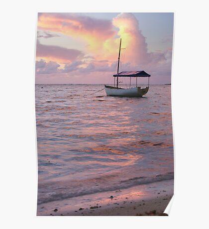 Raro dawn - Cook Islands Poster