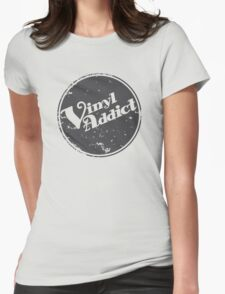 Vinyl Addict 2 Womens Fitted T-Shirt