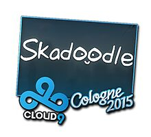 Cloud9 Skadoodle Cologne 2015 Autogaph Sticker by BRPlatinum