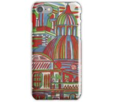 Multicoloured cathedral iPhone Case/Skin