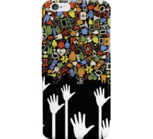 Hand medicine iPhone Case/Skin