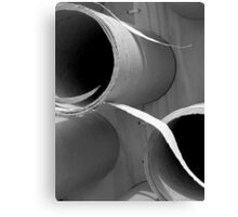 Tubular Sculpture Canvas Print