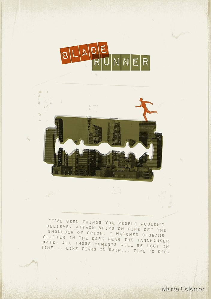 Blade runner by Marta Colomer
