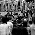 Crowd Scene by Janie. D