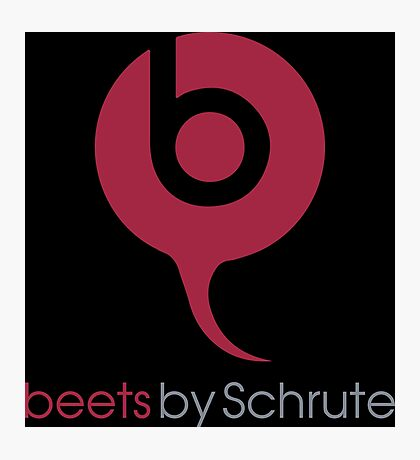 Beets By Schrute - The Office US - (Beats By Dr. Dre) Photographic Print