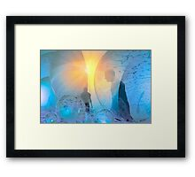 Out of the cold Framed Print