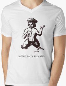 Monstris #2 - Male Dwarf Mens V-Neck T-Shirt