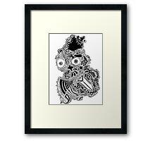 King owl the Thief (Dark) Framed Print