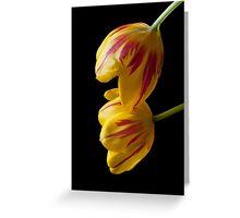 Tulip Treasures Greeting Card