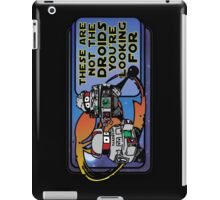 Star Wars - These Are Not The Droids You're Looking For iPad Case/Skin