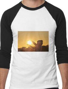 Take hold of the Sunrise Men's Baseball ¾ T-Shirt