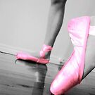 Pointe in Pink by Adah