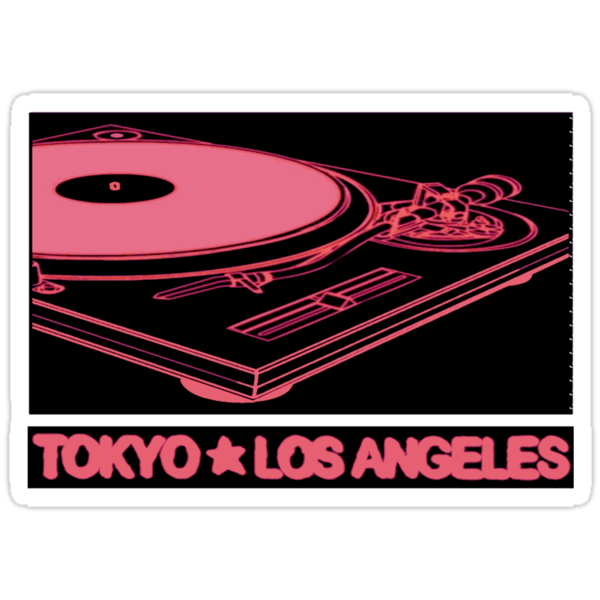 TURNTABLE: TOKYO TO LOS ANGELES by S DOT SLAUGHTER