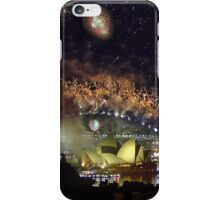 Sydney New year's Fireworks iPhone Case/Skin