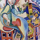 Miro meets Picasso by Sally Sargent