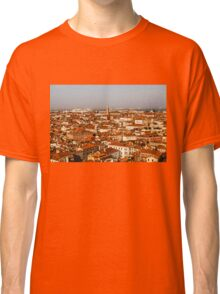 Impressions of Venice - Red Roofs and Cruise Ships Classic T-Shirt