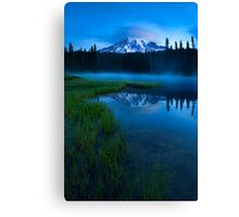 Twilight Mist Rising Canvas Print