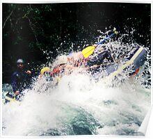 Rafting, Chilliwack River Poster