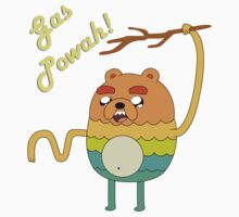 Bravest Warriors Adventure Time - Bear Jake the Dog Gas Powah Kids Clothes