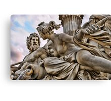 Vienna Sculpture Canvas Print