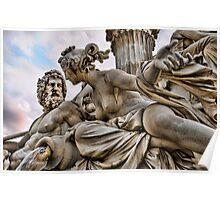 Vienna Sculpture Poster