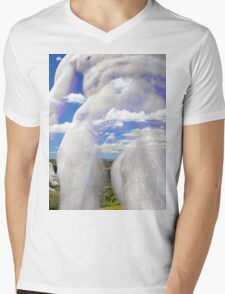 All About Italy. Tuscany Landscape 2 Mens V-Neck T-Shirt