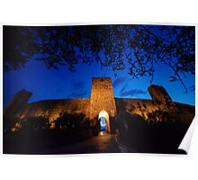 Castel Monastero, Tuscany Poster
