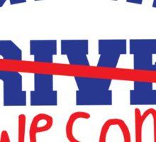 DESIGNATED DRIVER designated AWESOME! Sticker