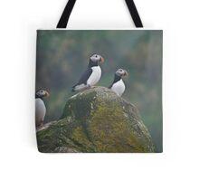 Atlantic Puffins - Newfoundland Canada Tote Bag