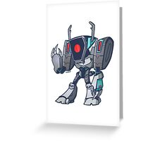 Shockwave from Transformers Animated Version A Greeting Card