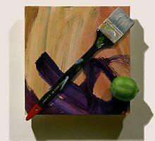 Brush, Marks with Lime by Robert Tynes