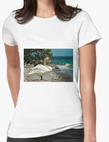 On The Shores Of Lake Ontario Womens Fitted T-Shirt