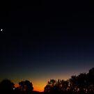 evening sky 2 by Tee Mezz
