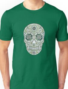 yummy green sugar skull Unisex T-Shirt