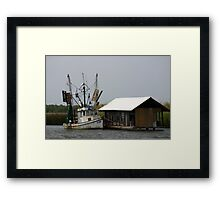 Shrimper At Rest Framed Print