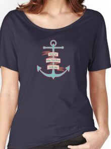 You are my anchor Women's Relaxed Fit T-Shirt