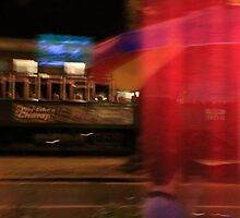 Fast Moving Streetcar   by Susan Grissom