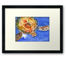 Molokini Friend Framed Print