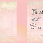 Be Still Hardcover Journal by Cynthia Harris