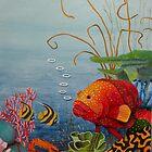 Great Barrier Reef Qld Australia by sandysartstudio