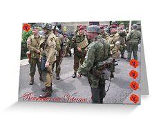NOV 11th Greeting Card