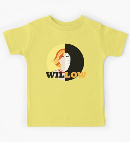 The Many Faces Of Willow Kids Tee