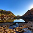 As the light drops in Katherine Gorge.....  by Peter Doré