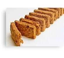 Breakfast cereal - wheat biscuit Metal Print