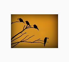 Silhouettes of Bee-eaters Unisex T-Shirt