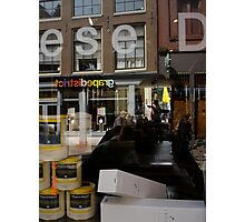 reflection within amsterdam Photographic Print