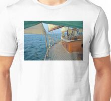 Classic Sailboat Sailing on the Beam Unisex T-Shirt